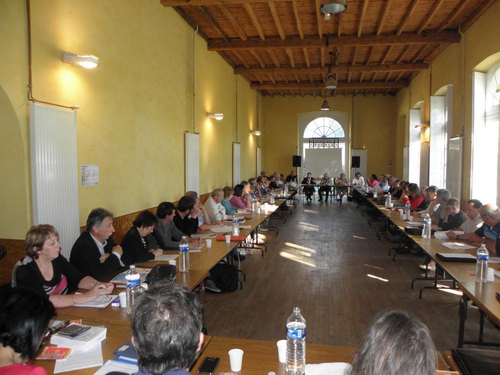 Le conseil communautaire de la Communauté de Communes du Carmausin-Ségala