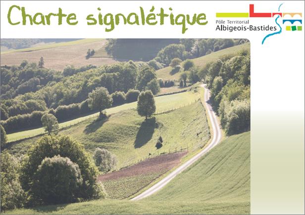 Charte signalétique du Pays de l'Albigeois et des Bastides