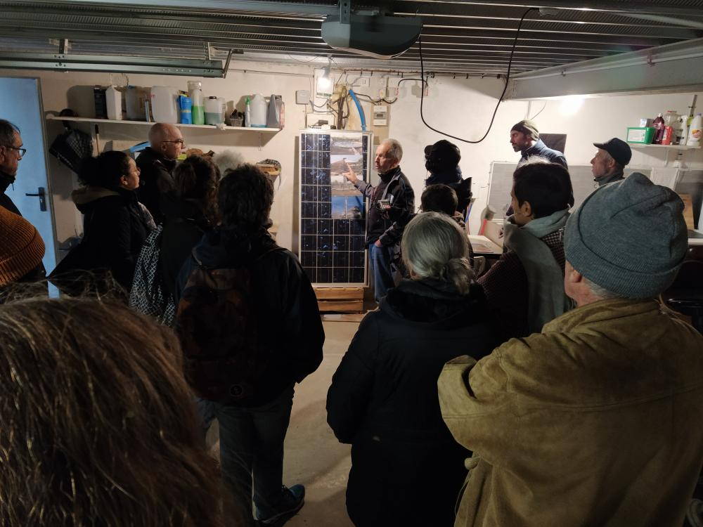 Intiative 4 : découverte d'une maison bioclimatique solaire tournante