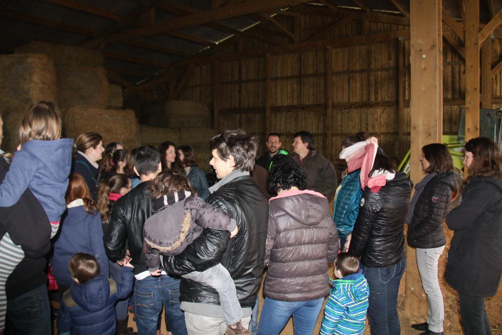 Visite à la ferme Saint Antonin de Lacalm
