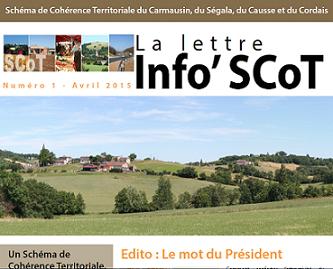 La lettre Info SCoT