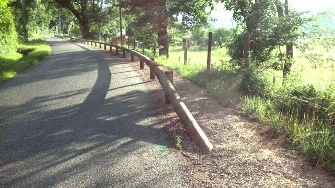 Aménagement d'une allée sécurisée pour pietons et cyclistes sur la commune des cabannes