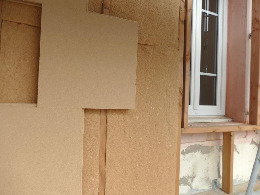 ITE en panneaux de fibre de bois
