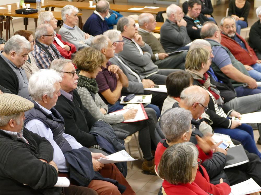 Conférence des Maires du 6 décembre 2018 à Poulan-Pouzols