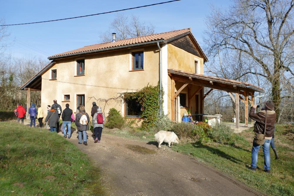 Maison paille ossature bois