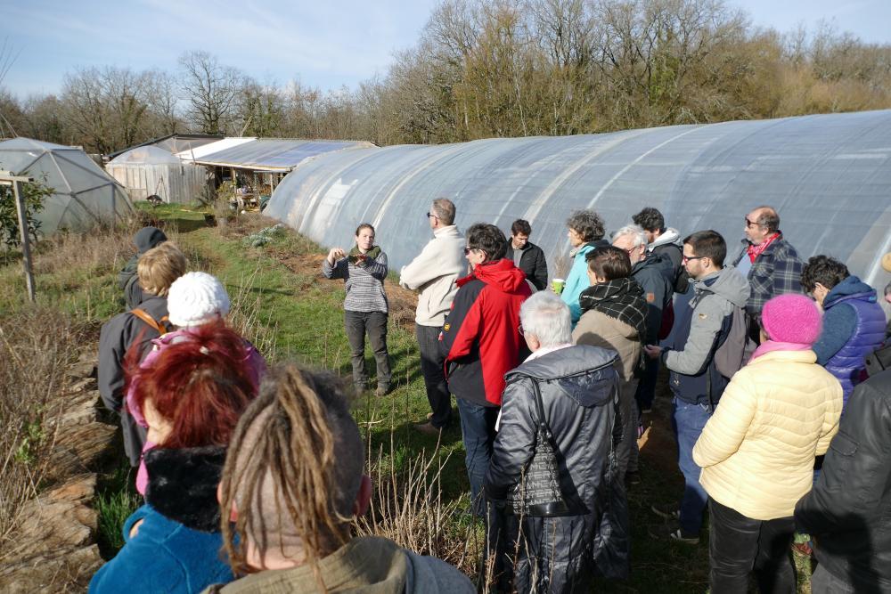 Echanges sur la permaculture au Jardin d'Emerveille