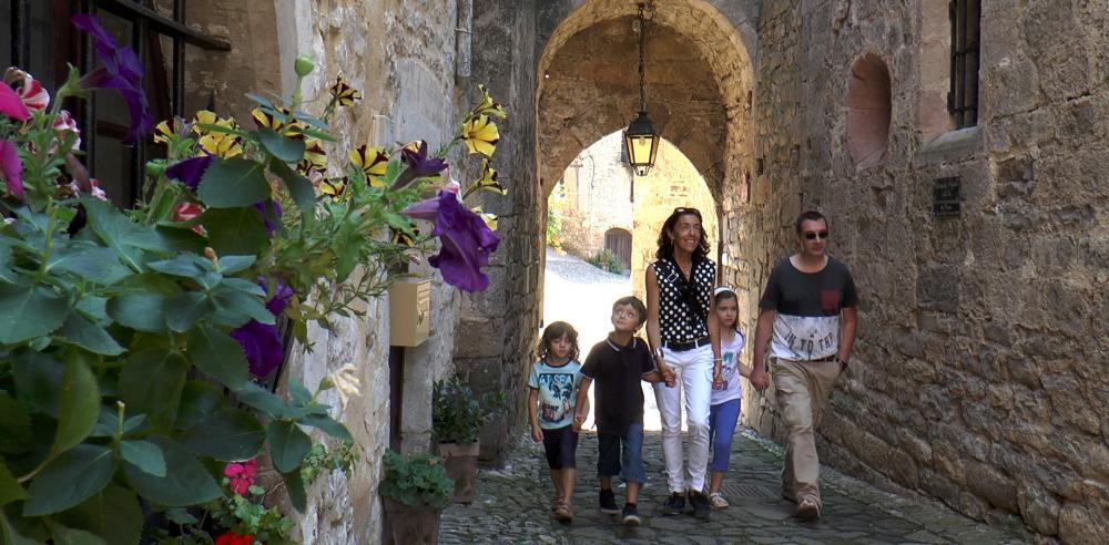 La montée au Château de Penne
