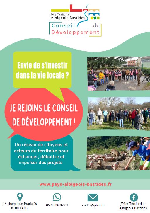 Plaquette de présentation du Conseil de Développement