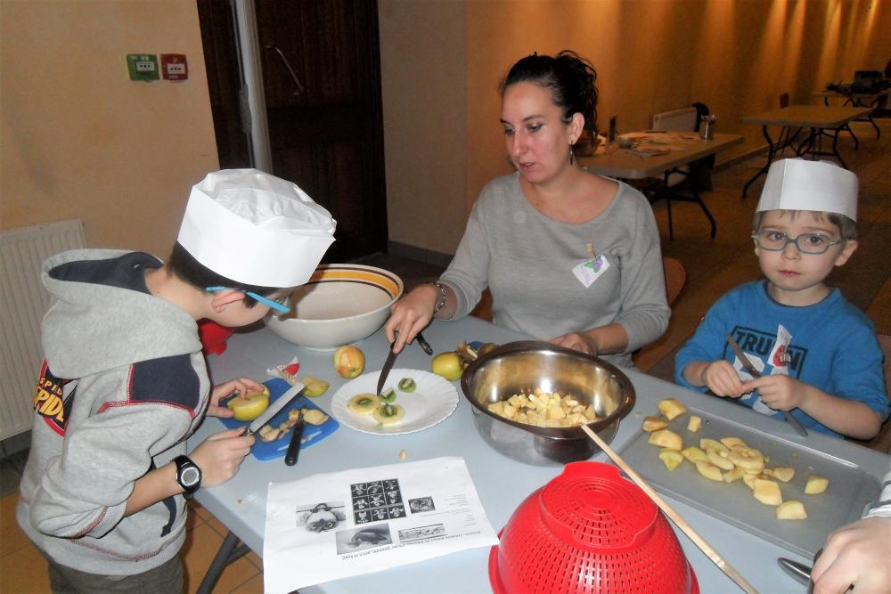 Atelier cuisine à la maison de la citoyenneté à Carmaux