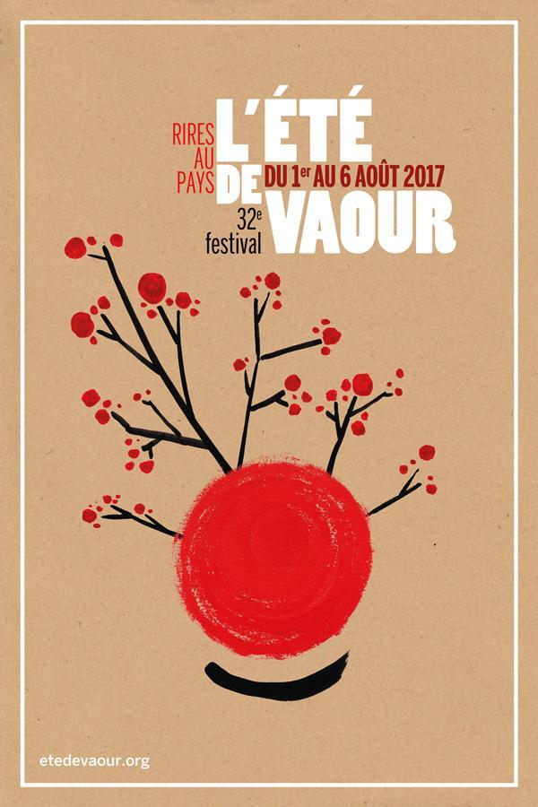 32ème Festival de l'Eté de Vaour - Visuel  Paul Raviart, Émile Ricard, Association L'été de Vaour