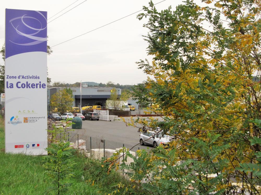 La Zone d'Activités communautaire de la Cokerie
