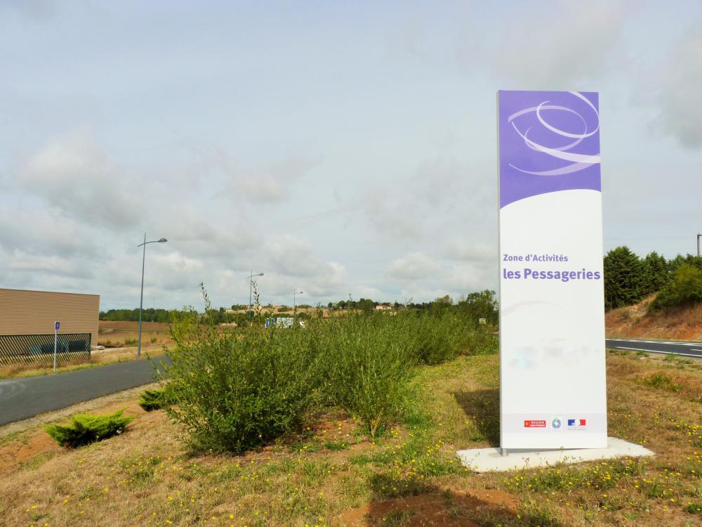 La Zone d'Activités communautaire des Pessageries