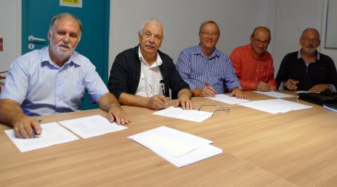 Signature de la convention territoriale