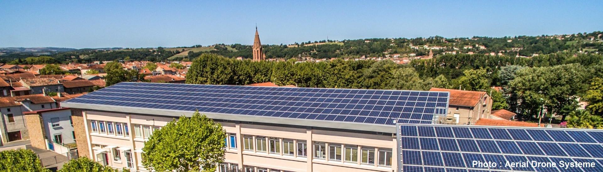 Photovoltaïque à Carmaux