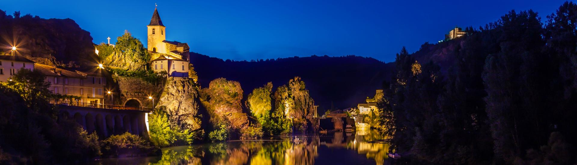 Ambialet, vallée du Tarn