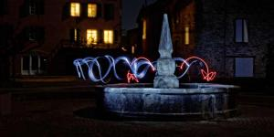 Atelier de light painting - Monestiés - 06/04/2017