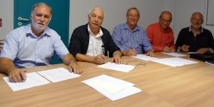 Signature de la convention territoriale